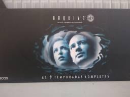 Título do anúncio: Arquivo X - DVDs 1' a 9' Temporada