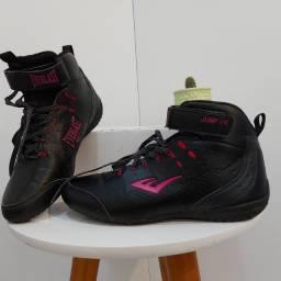 Título do anúncio: Tênis Everlast Feminino Jump IV preto e rosa pink
