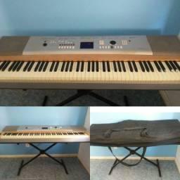 piano portable grand dgx 620 Yamaha<br>Vai o suporte e pedal