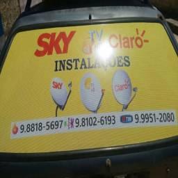 Tec.em instalações sky,claro e oitv,antena