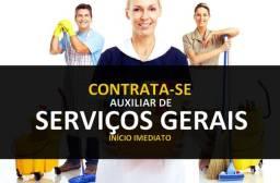 Título do anúncio: serviços gerais urgente