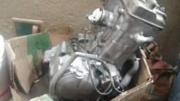Motor Kawasaki klx 650cc ano 1996 pedal de click motor funcionando