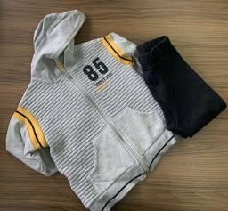 Kit roupas menino, tamanho 4