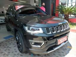 """Título do anúncio: Jeep Compass Limited 2.0 Flex """" Apenas 17.000 km """" Único Dono - 2019"""