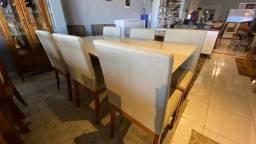 Título do anúncio: Mesa House de jantar madeira e acabamento laka