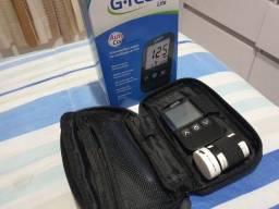 Aparelho medidor de glicose + 48 fitas