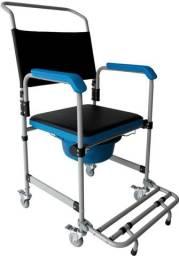 Cadeira de Banho para Higienização em Aço Dellamed D50 (Nova)