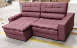 Sofa Retratil e Reclinável