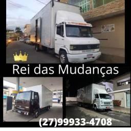 Mudanças em caminhão baú para todo o Brasil
