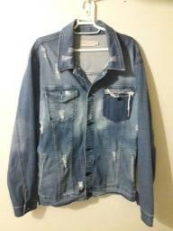 Jaqueta jeans Calvin klein destroyer