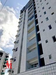 Apartamento com 3 dormitórios para alugar, 88 m² por R$ 1.900,00/mês - Jardim Oceania - Jo