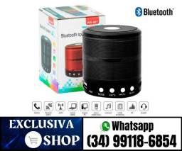 Mini Caixa De Som Portátil Speaker Ws-887 - Preto (Fazemos Entregas)