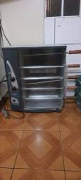 Churrasqueira elétrica e a gás....Pouco uso