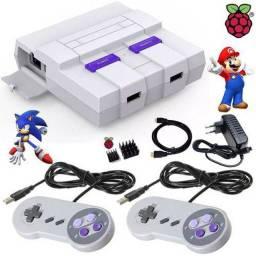 Super game retro Nintendo com 2 controles