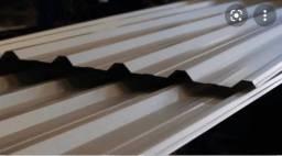 Título do anúncio: Telhas de zinco para tapume 6x1m