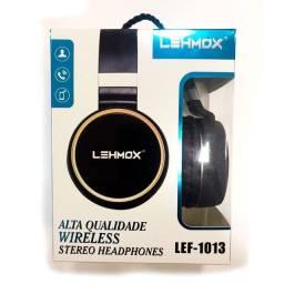Headphone wireless lef-1013 stereo lehmox - entregamos
