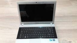 Notebook Samsung Rv411 Usado Funcionando Ok Com Alguns Risco