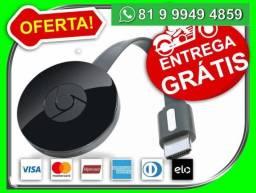 Google Chromecast 2.0 Hdmi 1080p Chrome Cast 2-Entregamos-grátis