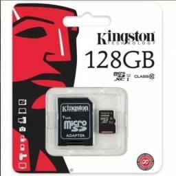 Cartão De Memória Micro Sd 128 Gb P/ Gopro Classe 10 Lacrado