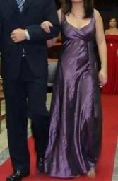 Vestido longo roxo tam P