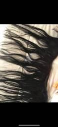 Cabelo humano virgem brasileiro