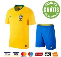Uniforme Copa do Mundo Brasil 2018