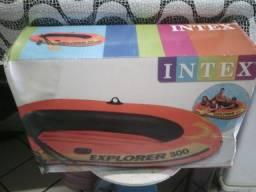 Bote inflável para 1 adulto e duas crianças