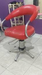 Cadeira hidráulica para salão