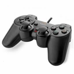 Controle de PS2 da marca Mox
