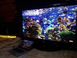 Tv LG 50 polegadas otima funcionando bem gigante espetaculo de imagem