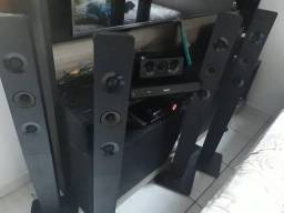 Home Theater com DVD 5.1 , HDMI,USB, Bluetooth integrado, 1.000 W