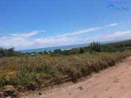 Esquina, 3 lotes junntos, vista permanente para o mar e o rio, rua principal de Praia Bela