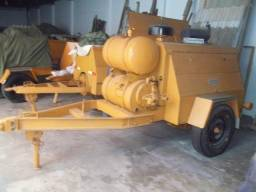 Compressor Ingersol Rand DRR160 - Motor Perkins - ótimo compressor