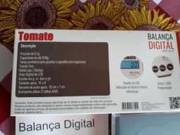 Mini balança digital de precisão décimo de grama 0,1g a 500g tomate
