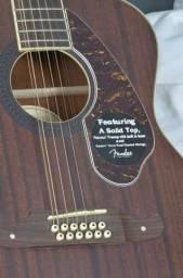 Violão Fender Tim Armstrong 12 cordas Espetacular