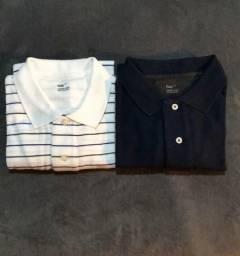 Original  Dois modelos de camisa Polo GAP Tam. M ca72d48f98ef8