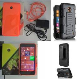Nokia Lumia 630 Dual Laranja TV digital