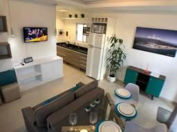 Apartamento com 1 dormitório para alugar por DIÁRIA - Praia de Palmas/SC