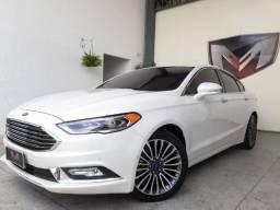 Ford Fusion 2.0 Titanium Awd 16v 2017/2017 Branca Blindado - 2017