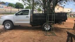 Caminhonete Toyota Hilux 2.5 carroceria de madeira mais top do Goias - 2008