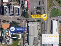Terreno à venda, 594 m² por R$ 1.400.000,00 - Jardim Goiás - Goiânia/GO