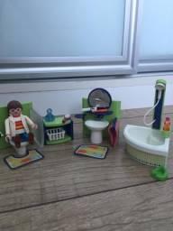 Bonecos Playmobil + Escola
