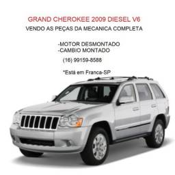 Grand Cherokee 2009 Diesel V6 vendo as peças da mecanica