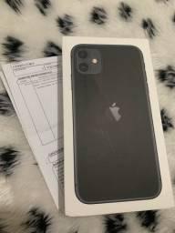 iPhone 11 64gb preto lacrado + Nota Fiscal