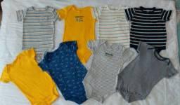 Lote de Roupas e Calçados Para Bebê Menino 12 a 18 meses (Carters, Gap)