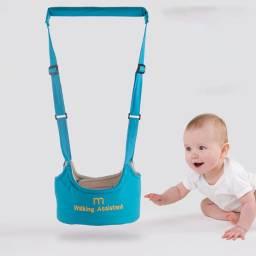 Andador Portátil Manual Suspenso Auxiliador Bebê Colete