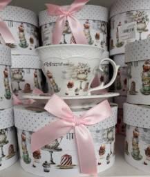 Xícara porcelana importadas