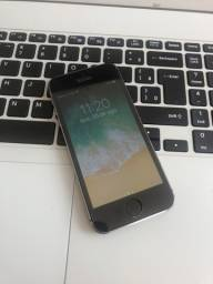 Iphone 5S 16GB cor Cinza Espacial com película de tela