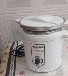 Panela de depilação Mega Bell + 1,5kg de cera