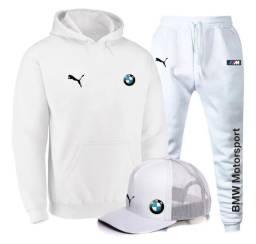 Kit BMW Moleton, calça e boné para o Ano novo!